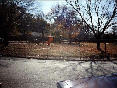 Cliff Circle Playground Before